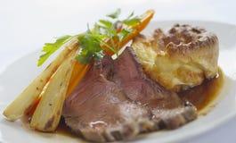 Jantar da carne do assado Foto de Stock