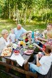 Jantar da família imagem de stock royalty free