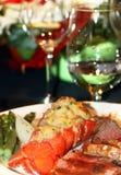 Jantar da lagosta Imagens de Stock