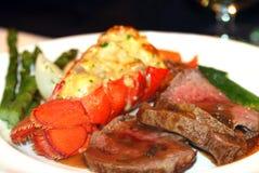 Jantar da lagosta Imagem de Stock