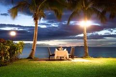 Jantar da margem Fotografia de Stock Royalty Free