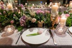 Jantar de casamento foto de stock royalty free