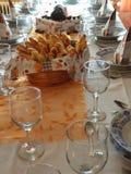 Jantar do aniversário Fotografia de Stock