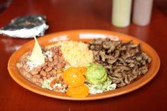 Jantar do asada de Carne Imagem de Stock Royalty Free
