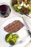 Jantar do bife Imagens de Stock