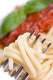 Jantar do espaguete Imagem de Stock Royalty Free