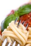 Jantar do espaguete Imagens de Stock Royalty Free