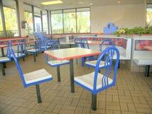 Jantar do fast food fotos de stock royalty free