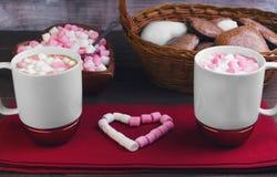 Jantar do feriado do dia de Valentim romântico Imagem de Stock
