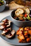 Jantar do gourmet Fotos de Stock Royalty Free