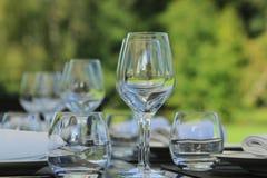 Jantar do jardim Imagens de Stock Royalty Free