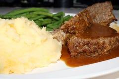 Jantar do Meatloaf Fotos de Stock