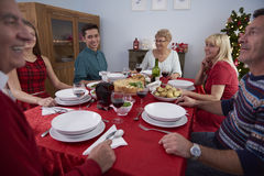Jantar do Natal Fotografia de Stock Royalty Free