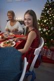 Jantar do Natal Foto de Stock
