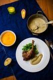 Jantar do pé do pato Fotografia de Stock