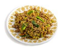 Jantar do Sprout de feijão Fotografia de Stock