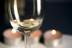 Jantar do Valentim Imagens de Stock