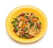 Jantar do Vegan do vegetariano Imagens de Stock