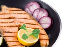 Jantar dos peixes Fotos de Stock Royalty Free