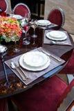 Jantar elegante imagem de stock royalty free