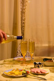 Jantar elegante Imagem de Stock