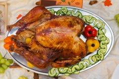 Jantar extravagante delicioso da ação de graças Foto de Stock