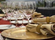 Jantar formal Fotografia de Stock
