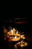 Jantar Intimate Fotografia de Stock