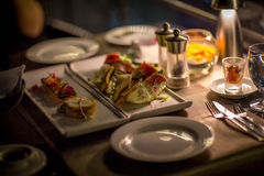 jantar luxuoso Foto de Stock