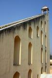 Jantar Mantar在斋浦尔(印度) 库存照片
