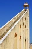 Jantar Mantar天文学观测所在Japiur,印度 免版税库存照片
