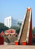 Jantar Mantar,新德里,印度 免版税库存图片