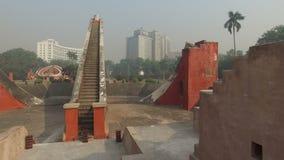Jantar Mantar - Ινδία απόθεμα βίντεο