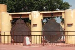Jantar Mantar στο Jaipur. Στοκ Φωτογραφία