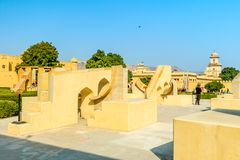 Jantar Mantar Stockbilder