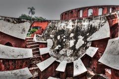 Jantar Mantar - ancient observatory Royalty Free Stock Image