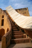 Jantar Mantar astronomical Observatory Royalty Free Stock Photo