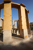 Jantar Mantar astronomical observatory at Jaipur Stock Photos