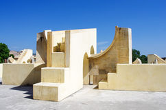 Jantar Mantar astronomical observatory in Japiur, India Royalty Free Stock Photography