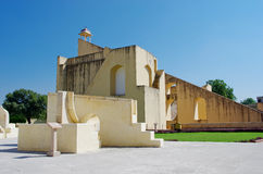 Jantar Mantar astronomical observatory in Japiur, India Royalty Free Stock Image