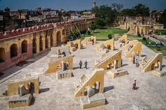 Jantar Mantar astronomical Observatory Royalty Free Stock Images