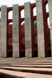 Jantar mantar, delhi, detail. Jantan mantar is an observatory consisting of masonry-built astronomical instruments, errected by maharaja jai singh II of jaipur ( Royalty Free Stock Images