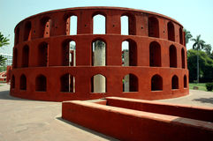 Jantar Mantar of Delhi-India. Royalty Free Stock Images