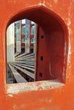 Jantar Mantar, Delhi, Indien Lizenzfreie Stockbilder