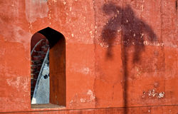 Jantar Mantar-Fenster stockbild
