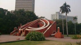 Jantar Mantar. A historical place at new delhi Royalty Free Stock Photos