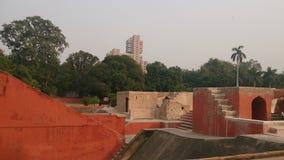 Jantar Mantar. A historical place at new delhi Royalty Free Stock Photo