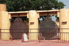 Jantar Mantar i Jaipur. Arkivbild