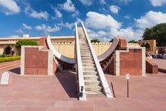 Jantar Mantar, Jaipur. Astronomical instruments at Jantar Mantar observatory, Jaipur, India royalty free stock photography