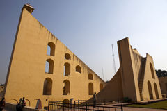 THE JANTAR MANTAR IN JAIPUR - INDIA Royalty Free Stock Photo
